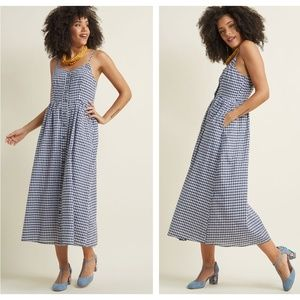 MODCLOTH Quite Clearly Charismatic Dress {M19}
